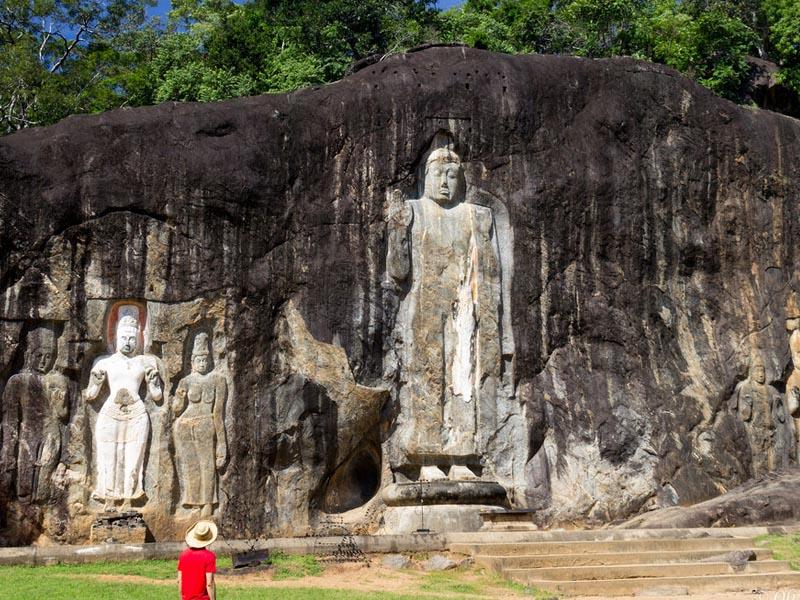 Buduruwagala temple